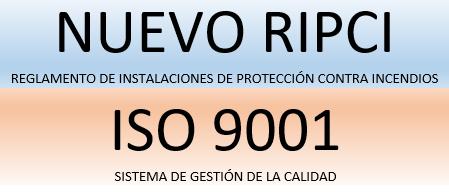 Nuevo RIPCI ISO 9001