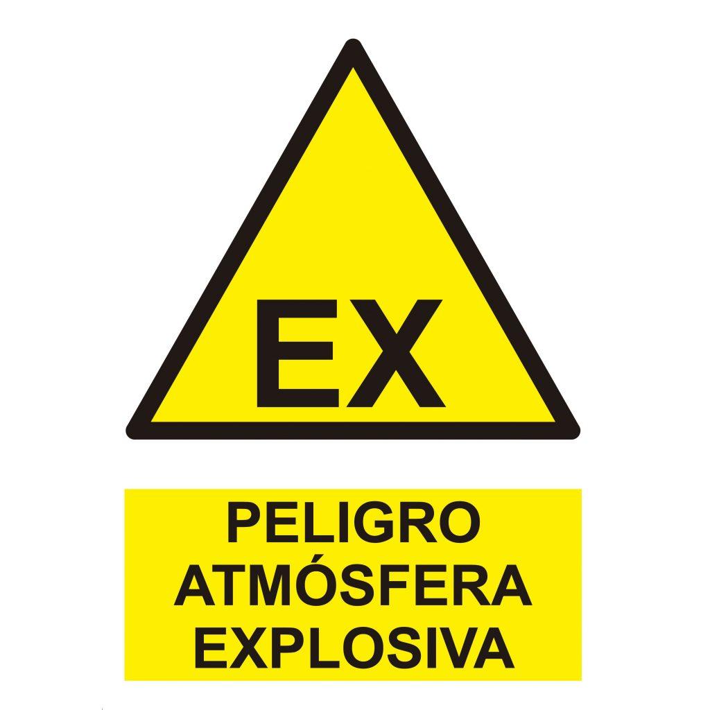 Pictograma ATEX - Atmósferas Explosivas